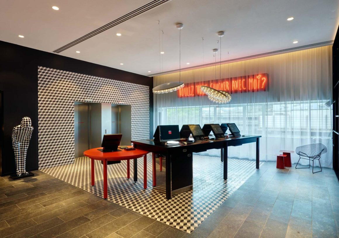 Hall du citizenM